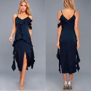 NWOT Keepsake The Label Love Bound Midi Dress